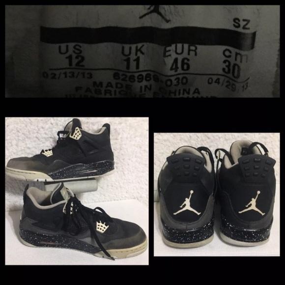 Jordan Other - 🌹SOLD🌹Nike Air Jordan Retro 4 IV MJ SZ 12